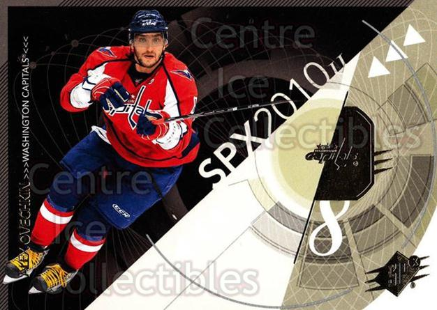 2010-11 Spx #98 Alexander Ovechkin<br/>13 In Stock - $2.00 each - <a href=https://centericecollectibles.foxycart.com/cart?name=2010-11%20Spx%20%2398%20Alexander%20Ovech...&price=$2.00&code=280767 class=foxycart> Buy it now! </a>