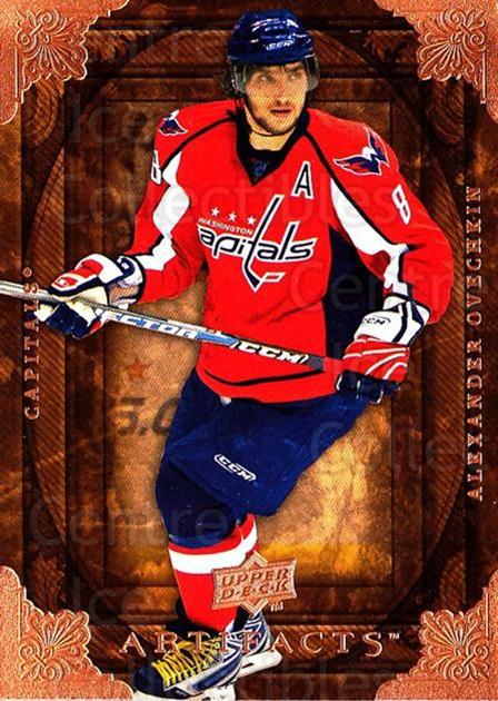 2008-09 UD Artifacts #1 Alexander Ovechkin<br/>4 In Stock - $2.00 each - <a href=https://centericecollectibles.foxycart.com/cart?name=2008-09%20UD%20Artifacts%20%231%20Alexander%20Ovech...&price=$2.00&code=280770 class=foxycart> Buy it now! </a>