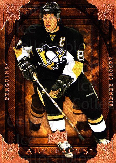 2008-09 UD Artifacts #21 Sidney Crosby<br/>1 In Stock - $3.00 each - <a href=https://centericecollectibles.foxycart.com/cart?name=2008-09%20UD%20Artifacts%20%2321%20Sidney%20Crosby...&quantity_max=1&price=$3.00&code=280790 class=foxycart> Buy it now! </a>
