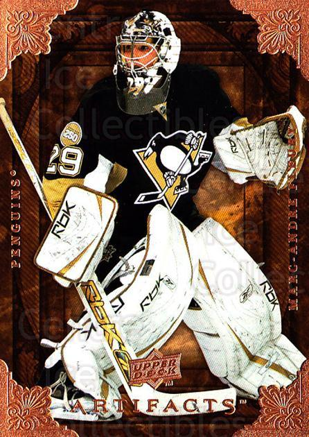 2008-09 UD Artifacts #22 Marc-Andre Fleury<br/>4 In Stock - $2.00 each - <a href=https://centericecollectibles.foxycart.com/cart?name=2008-09%20UD%20Artifacts%20%2322%20Marc-Andre%20Fleu...&quantity_max=4&price=$2.00&code=280791 class=foxycart> Buy it now! </a>