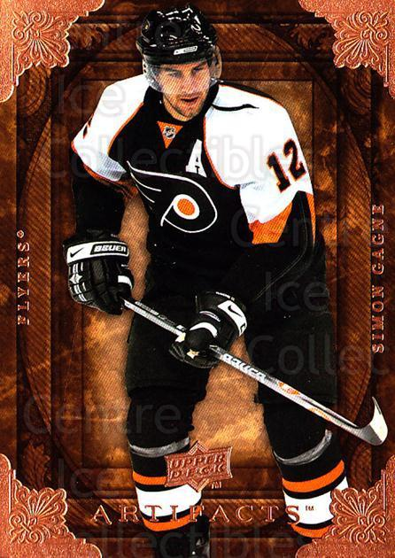 2008-09 UD Artifacts #28 Simon Gagne<br/>5 In Stock - $1.00 each - <a href=https://centericecollectibles.foxycart.com/cart?name=2008-09%20UD%20Artifacts%20%2328%20Simon%20Gagne...&quantity_max=5&price=$1.00&code=280797 class=foxycart> Buy it now! </a>