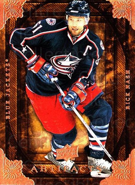 2008-09 UD Artifacts #71 Rick Nash<br/>4 In Stock - $1.00 each - <a href=https://centericecollectibles.foxycart.com/cart?name=2008-09%20UD%20Artifacts%20%2371%20Rick%20Nash...&quantity_max=4&price=$1.00&code=280840 class=foxycart> Buy it now! </a>