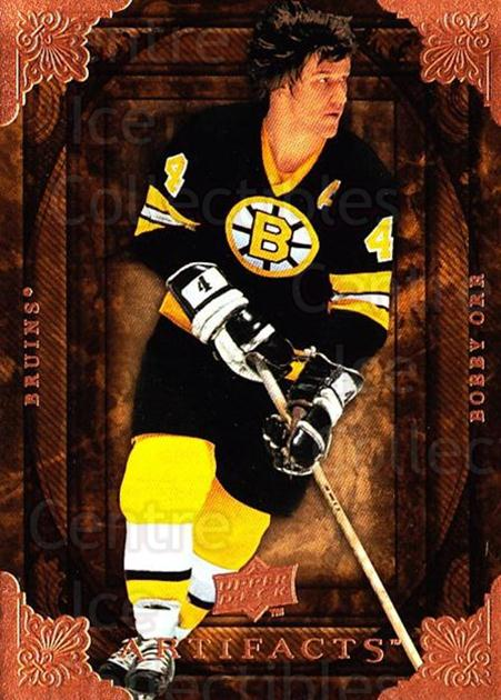 2008-09 UD Artifacts #91 Bobby Orr<br/>1 In Stock - $5.00 each - <a href=https://centericecollectibles.foxycart.com/cart?name=2008-09%20UD%20Artifacts%20%2391%20Bobby%20Orr...&quantity_max=1&price=$5.00&code=280860 class=foxycart> Buy it now! </a>