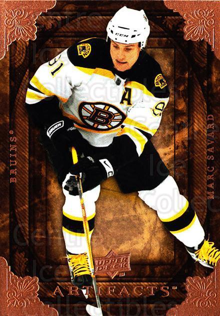 2008-09 UD Artifacts #94 Marc Savard<br/>4 In Stock - $1.00 each - <a href=https://centericecollectibles.foxycart.com/cart?name=2008-09%20UD%20Artifacts%20%2394%20Marc%20Savard...&quantity_max=4&price=$1.00&code=280863 class=foxycart> Buy it now! </a>