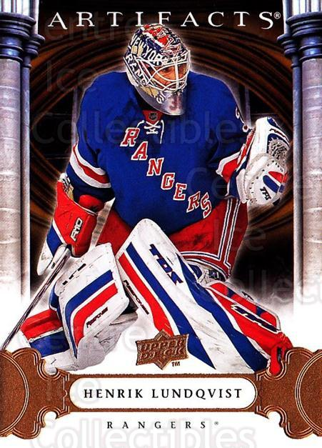 2009-10 UD Artifacts #1 Henrik Lundqvist<br/>2 In Stock - $1.00 each - <a href=https://centericecollectibles.foxycart.com/cart?name=2009-10%20UD%20Artifacts%20%231%20Henrik%20Lundqvis...&price=$1.00&code=280870 class=foxycart> Buy it now! </a>