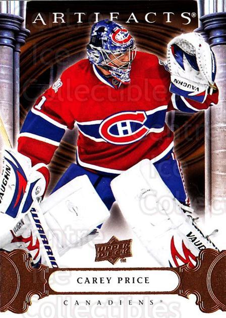 2009-10 UD Artifacts #24 Carey Price<br/>1 In Stock - $3.00 each - <a href=https://centericecollectibles.foxycart.com/cart?name=2009-10%20UD%20Artifacts%20%2324%20Carey%20Price...&quantity_max=1&price=$3.00&code=280893 class=foxycart> Buy it now! </a>