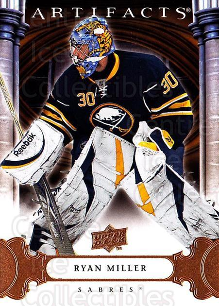 2009-10 UD Artifacts #79 Ryan Miller<br/>3 In Stock - $1.00 each - <a href=https://centericecollectibles.foxycart.com/cart?name=2009-10%20UD%20Artifacts%20%2379%20Ryan%20Miller...&quantity_max=3&price=$1.00&code=280948 class=foxycart> Buy it now! </a>