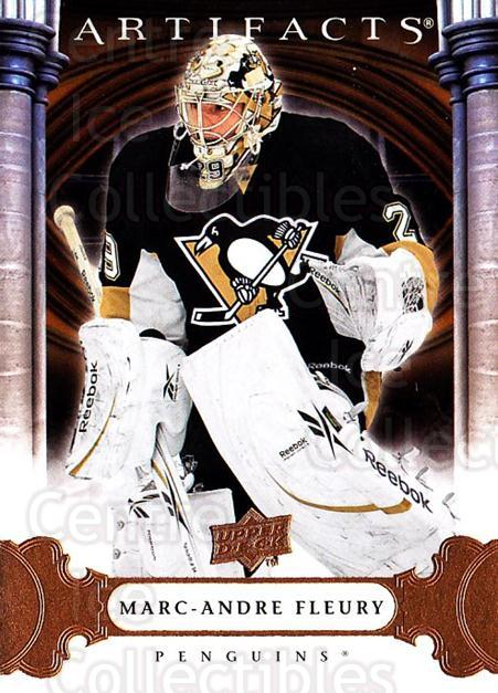 2009-10 UD Artifacts #91 Marc-Andre Fleury<br/>3 In Stock - $2.00 each - <a href=https://centericecollectibles.foxycart.com/cart?name=2009-10%20UD%20Artifacts%20%2391%20Marc-Andre%20Fleu...&quantity_max=3&price=$2.00&code=280960 class=foxycart> Buy it now! </a>