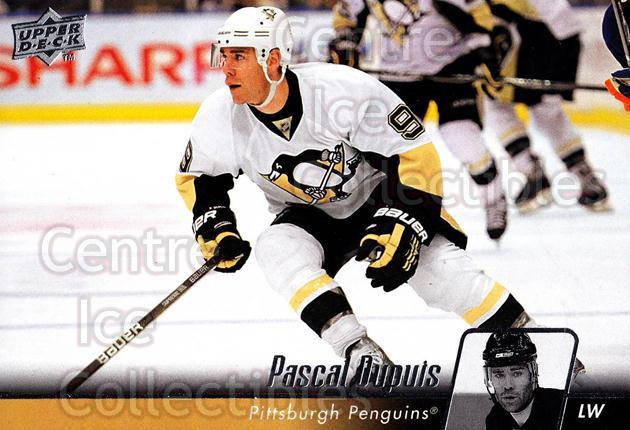 2010-11 Upper Deck #44 Pascal Dupuis<br/>11 In Stock - $1.00 each - <a href=https://centericecollectibles.foxycart.com/cart?name=2010-11%20Upper%20Deck%20%2344%20Pascal%20Dupuis...&quantity_max=11&price=$1.00&code=281013 class=foxycart> Buy it now! </a>