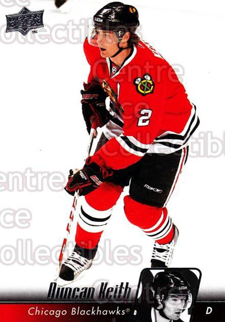 2010-11 Upper Deck #155 Duncan Keith<br/>11 In Stock - $2.00 each - <a href=https://centericecollectibles.foxycart.com/cart?name=2010-11%20Upper%20Deck%20%23155%20Duncan%20Keith...&quantity_max=11&price=$2.00&code=281124 class=foxycart> Buy it now! </a>