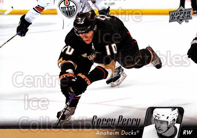 2010-11 Upper Deck #195 Corey Perry<br/>11 In Stock - $1.00 each - <a href=https://centericecollectibles.foxycart.com/cart?name=2010-11%20Upper%20Deck%20%23195%20Corey%20Perry...&quantity_max=11&price=$1.00&code=281164 class=foxycart> Buy it now! </a>