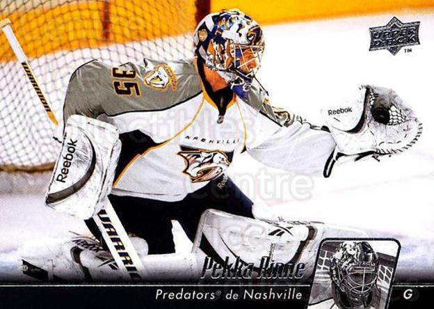 2010-11 Upper Deck French #92 Pekka Rinne<br/>5 In Stock - $1.00 each - <a href=https://centericecollectibles.foxycart.com/cart?name=2010-11%20Upper%20Deck%20French%20%2392%20Pekka%20Rinne...&quantity_max=5&price=$1.00&code=281311 class=foxycart> Buy it now! </a>