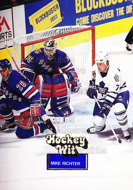 1994-95 Hockey Wit #1 Mike Richter<br/>6 In Stock - $2.00 each - <a href=https://centericecollectibles.foxycart.com/cart?name=1994-95%20Hockey%20Wit%20%231%20Mike%20Richter...&quantity_max=6&price=$2.00&code=2814 class=foxycart> Buy it now! </a>