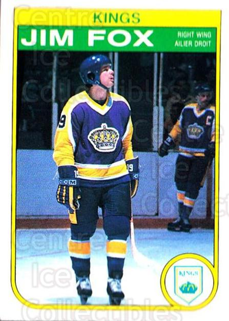 1982-83 O-Pee-Chee #154 Jim Fox<br/>8 In Stock - $1.00 each - <a href=https://centericecollectibles.foxycart.com/cart?name=1982-83%20O-Pee-Chee%20%23154%20Jim%20Fox...&price=$1.00&code=28165 class=foxycart> Buy it now! </a>