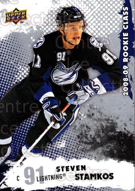 2008-09 Upper Deck Rookie Class #1 Steven Stamkos<br/>1 In Stock - $5.00 each - <a href=https://centericecollectibles.foxycart.com/cart?name=2008-09%20Upper%20Deck%20Rookie%20Class%20%231%20Steven%20Stamkos...&quantity_max=1&price=$5.00&code=281680 class=foxycart> Buy it now! </a>