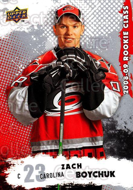 2008-09 Upper Deck Rookie Class #19 Zach Boychuk<br/>6 In Stock - $2.00 each - <a href=https://centericecollectibles.foxycart.com/cart?name=2008-09%20Upper%20Deck%20Rookie%20Class%20%2319%20Zach%20Boychuk...&quantity_max=6&price=$2.00&code=281698 class=foxycart> Buy it now! </a>