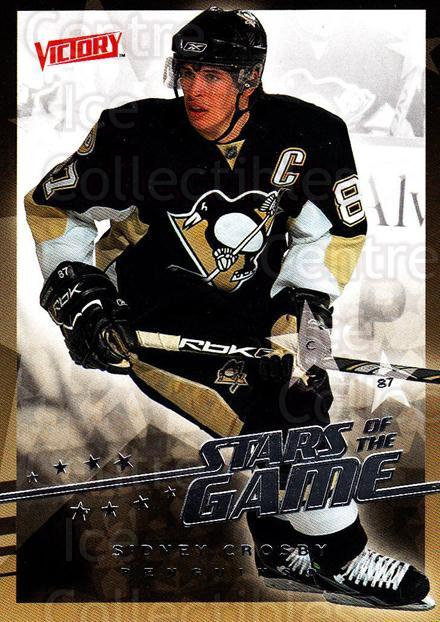 2008-09 UD Victory Stars of the Game #12 Sidney Crosby<br/>5 In Stock - $5.00 each - <a href=https://centericecollectibles.foxycart.com/cart?name=2008-09%20UD%20Victory%20Stars%20of%20the%20Game%20%2312%20Sidney%20Crosby...&quantity_max=5&price=$5.00&code=281838 class=foxycart> Buy it now! </a>