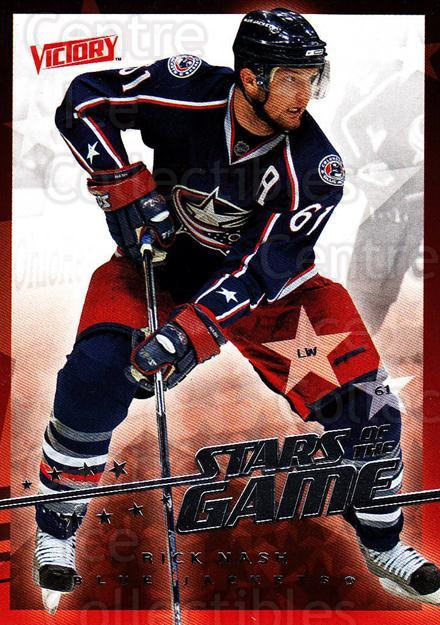 2008-09 UD Victory Stars of the Game #19 Rick Nash<br/>3 In Stock - $2.00 each - <a href=https://centericecollectibles.foxycart.com/cart?name=2008-09%20UD%20Victory%20Stars%20of%20the%20Game%20%2319%20Rick%20Nash...&quantity_max=3&price=$2.00&code=281845 class=foxycart> Buy it now! </a>