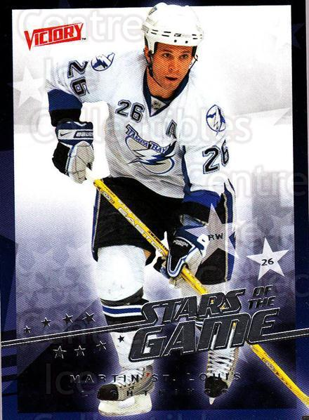 2008-09 UD Victory Stars of the Game #43 Martin St. Louis<br/>5 In Stock - $2.00 each - <a href=https://centericecollectibles.foxycart.com/cart?name=2008-09%20UD%20Victory%20Stars%20of%20the%20Game%20%2343%20Martin%20St.%20Loui...&quantity_max=5&price=$2.00&code=281869 class=foxycart> Buy it now! </a>