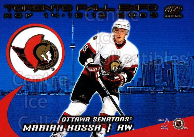 2003 Pacific Toronto Fall Expo Redemption #5 Josh Ranek, Marian Hossa<br/>1 In Stock - $5.00 each - <a href=https://centericecollectibles.foxycart.com/cart?name=2003%20Pacific%20Toronto%20Fall%20Expo%20Redemption%20%235%20Josh%20Ranek,%20Mar...&quantity_max=1&price=$5.00&code=281982 class=foxycart> Buy it now! </a>