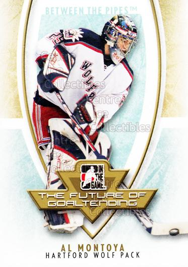 2007-08 Between The Pipes The Future of Goaltending #6 Al Montoya<br/>18 In Stock - $2.00 each - <a href=https://centericecollectibles.foxycart.com/cart?name=2007-08%20Between%20The%20Pipes%20The%20Future%20of%20Goaltending%20%236%20Al%20Montoya...&quantity_max=18&price=$2.00&code=282185 class=foxycart> Buy it now! </a>