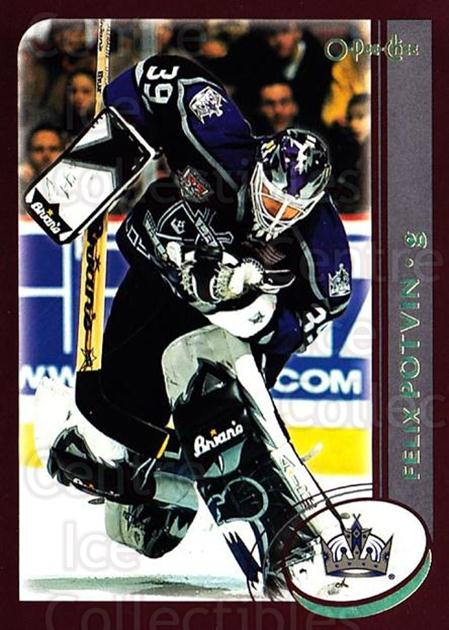 2002-03 O-Pee-Chee Factory #18 Felix Potvin<br/>2 In Stock - $1.00 each - <a href=https://centericecollectibles.foxycart.com/cart?name=2002-03%20O-Pee-Chee%20Factory%20%2318%20Felix%20Potvin...&quantity_max=2&price=$1.00&code=282240 class=foxycart> Buy it now! </a>