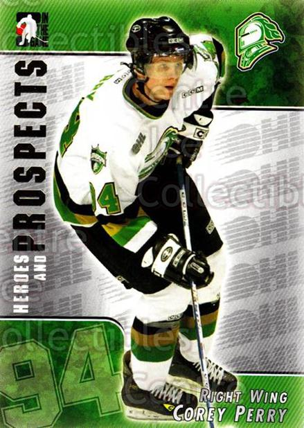 2004-05 ITG Heroes and Prospects #65 Corey Perry<br/>14 In Stock - $3.00 each - <a href=https://centericecollectibles.foxycart.com/cart?name=2004-05%20ITG%20Heroes%20and%20Prospects%20%2365%20Corey%20Perry...&quantity_max=14&price=$3.00&code=282299 class=foxycart> Buy it now! </a>
