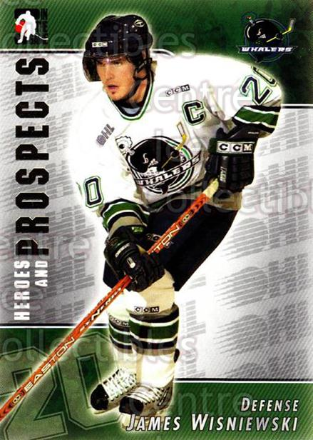 2004-05 ITG Heroes and Prospects #77 James Wisniewski<br/>18 In Stock - $1.00 each - <a href=https://centericecollectibles.foxycart.com/cart?name=2004-05%20ITG%20Heroes%20and%20Prospects%20%2377%20James%20Wisniewsk...&quantity_max=18&price=$1.00&code=282301 class=foxycart> Buy it now! </a>