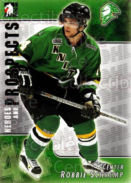 2004-05 ITG Heroes and Prospects #100 Rob Schremp<br/>12 In Stock - $1.00 each - <a href=https://centericecollectibles.foxycart.com/cart?name=2004-05%20ITG%20Heroes%20and%20Prospects%20%23100%20Rob%20Schremp...&quantity_max=12&price=$1.00&code=282304 class=foxycart> Buy it now! </a>