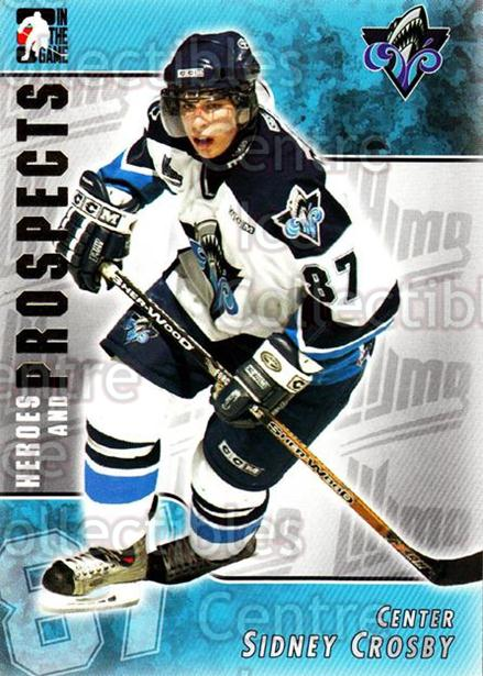 2004-05 ITG Heroes and Prospects #104 Sidney Crosby<br/>2 In Stock - $10.00 each - <a href=https://centericecollectibles.foxycart.com/cart?name=2004-05%20ITG%20Heroes%20and%20Prospects%20%23104%20Sidney%20Crosby...&price=$10.00&code=282305 class=foxycart> Buy it now! </a>