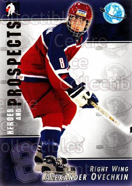 2004-05 ITG Heroes and Prospects #116 Alexander Ovechkin<br/>4 In Stock - $5.00 each - <a href=https://centericecollectibles.foxycart.com/cart?name=2004-05%20ITG%20Heroes%20and%20Prospects%20%23116%20Alexander%20Ovech...&price=$5.00&code=282307 class=foxycart> Buy it now! </a>