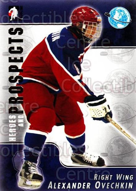 2004-05 ITG Heroes and Prospects #117 Alexander Ovechkin<br/>9 In Stock - $3.00 each - <a href=https://centericecollectibles.foxycart.com/cart?name=2004-05%20ITG%20Heroes%20and%20Prospects%20%23117%20Alexander%20Ovech...&quantity_max=9&price=$3.00&code=282308 class=foxycart> Buy it now! </a>