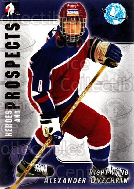 2004-05 ITG Heroes and Prospects #118 Alexander Ovechkin<br/>10 In Stock - $3.00 each - <a href=https://centericecollectibles.foxycart.com/cart?name=2004-05%20ITG%20Heroes%20and%20Prospects%20%23118%20Alexander%20Ovech...&quantity_max=10&price=$3.00&code=282309 class=foxycart> Buy it now! </a>