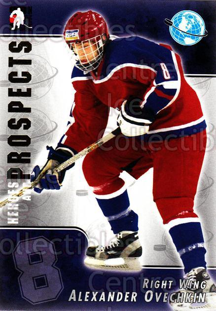 2004-05 ITG Heroes and Prospects #119 Alexander Ovechkin<br/>8 In Stock - $3.00 each - <a href=https://centericecollectibles.foxycart.com/cart?name=2004-05%20ITG%20Heroes%20and%20Prospects%20%23119%20Alexander%20Ovech...&quantity_max=8&price=$3.00&code=282310 class=foxycart> Buy it now! </a>