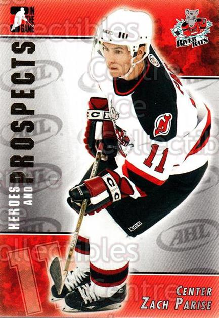 2004-05 ITG Heroes and Prospects #183 Zach Parise<br/>4 In Stock - $3.00 each - <a href=https://centericecollectibles.foxycart.com/cart?name=2004-05%20ITG%20Heroes%20and%20Prospects%20%23183%20Zach%20Parise...&quantity_max=4&price=$3.00&code=282320 class=foxycart> Buy it now! </a>