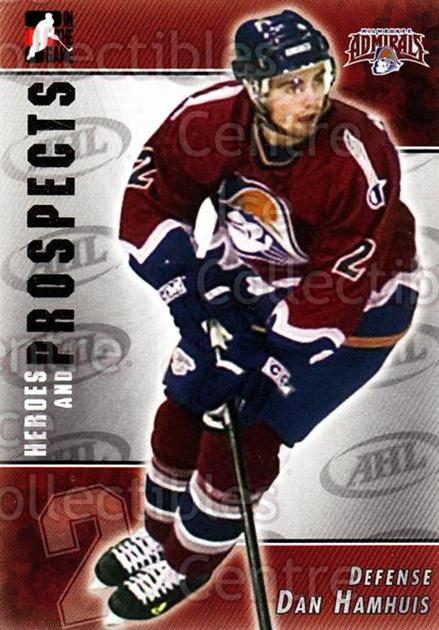 2004-05 ITG Heroes and Prospects #184 Dan Hamhuis<br/>4 In Stock - $1.00 each - <a href=https://centericecollectibles.foxycart.com/cart?name=2004-05%20ITG%20Heroes%20and%20Prospects%20%23184%20Dan%20Hamhuis...&quantity_max=4&price=$1.00&code=282321 class=foxycart> Buy it now! </a>