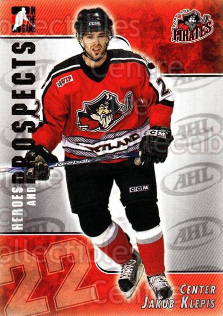 2004-05 ITG Heroes and Prospects #188 Jakub Klepis<br/>4 In Stock - $1.00 each - <a href=https://centericecollectibles.foxycart.com/cart?name=2004-05%20ITG%20Heroes%20and%20Prospects%20%23188%20Jakub%20Klepis...&quantity_max=4&price=$1.00&code=282325 class=foxycart> Buy it now! </a>