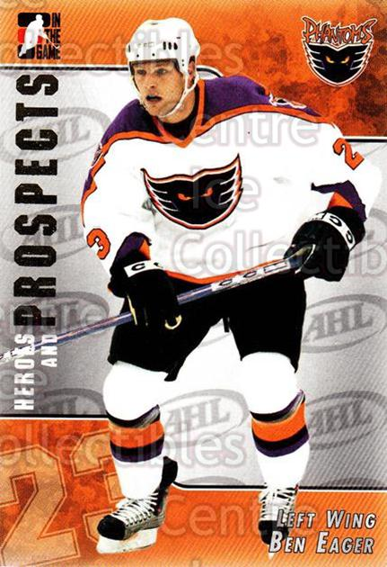 2004-05 ITG Heroes and Prospects #189 Ben Eager<br/>2 In Stock - $1.00 each - <a href=https://centericecollectibles.foxycart.com/cart?name=2004-05%20ITG%20Heroes%20and%20Prospects%20%23189%20Ben%20Eager...&quantity_max=2&price=$1.00&code=282326 class=foxycart> Buy it now! </a>