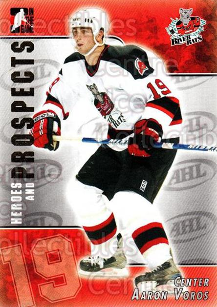 2004-05 ITG Heroes and Prospects #192 Aaron Voros<br/>4 In Stock - $2.00 each - <a href=https://centericecollectibles.foxycart.com/cart?name=2004-05%20ITG%20Heroes%20and%20Prospects%20%23192%20Aaron%20Voros...&quantity_max=4&price=$2.00&code=282329 class=foxycart> Buy it now! </a>