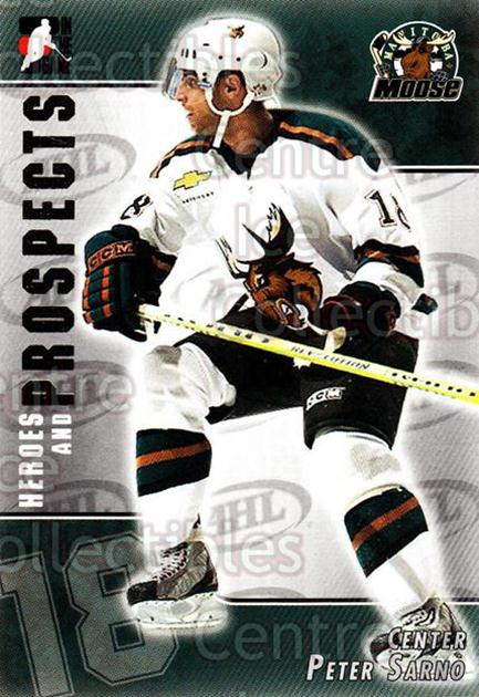 2004-05 ITG Heroes and Prospects #196 Peter Sarno<br/>5 In Stock - $1.00 each - <a href=https://centericecollectibles.foxycart.com/cart?name=2004-05%20ITG%20Heroes%20and%20Prospects%20%23196%20Peter%20Sarno...&quantity_max=5&price=$1.00&code=282333 class=foxycart> Buy it now! </a>