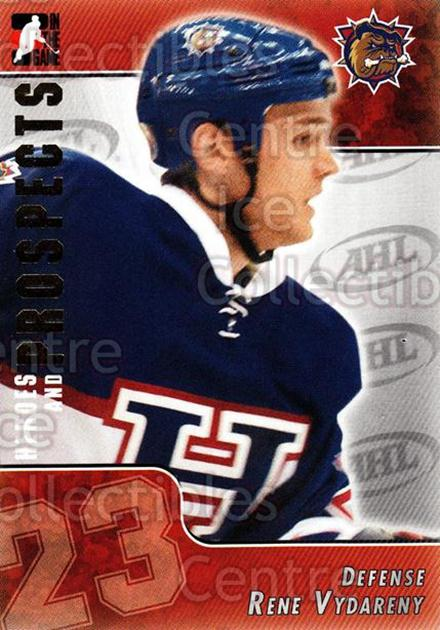 2004-05 ITG Heroes and Prospects #201 Rene Vydareny<br/>2 In Stock - $1.00 each - <a href=https://centericecollectibles.foxycart.com/cart?name=2004-05%20ITG%20Heroes%20and%20Prospects%20%23201%20Rene%20Vydareny...&quantity_max=2&price=$1.00&code=282338 class=foxycart> Buy it now! </a>
