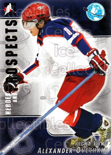 2004-05 ITG Heroes and Prospects #202 Alexander Ovechkin<br/>2 In Stock - $10.00 each - <a href=https://centericecollectibles.foxycart.com/cart?name=2004-05%20ITG%20Heroes%20and%20Prospects%20%23202%20Alexander%20Ovech...&quantity_max=2&price=$10.00&code=282339 class=foxycart> Buy it now! </a>