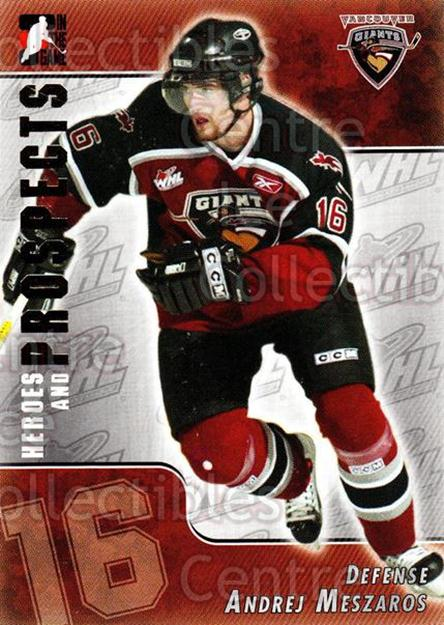 2004-05 ITG Heroes and Prospects #208 Andrej Meszaros<br/>2 In Stock - $1.00 each - <a href=https://centericecollectibles.foxycart.com/cart?name=2004-05%20ITG%20Heroes%20and%20Prospects%20%23208%20Andrej%20Meszaros...&quantity_max=2&price=$1.00&code=282345 class=foxycart> Buy it now! </a>