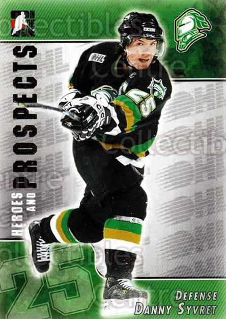 2004-05 ITG Heroes and Prospects #212 Danny Syvret<br/>2 In Stock - $1.00 each - <a href=https://centericecollectibles.foxycart.com/cart?name=2004-05%20ITG%20Heroes%20and%20Prospects%20%23212%20Danny%20Syvret...&quantity_max=2&price=$1.00&code=282349 class=foxycart> Buy it now! </a>