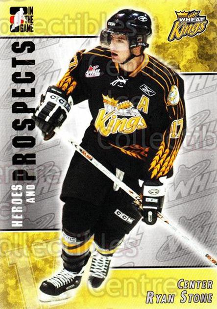 2004-05 ITG Heroes and Prospects #214 Ryan Stone<br/>4 In Stock - $1.00 each - <a href=https://centericecollectibles.foxycart.com/cart?name=2004-05%20ITG%20Heroes%20and%20Prospects%20%23214%20Ryan%20Stone...&quantity_max=4&price=$1.00&code=282351 class=foxycart> Buy it now! </a>