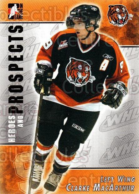 2004-05 ITG Heroes and Prospects #217 Clarke MacArthur<br/>5 In Stock - $1.00 each - <a href=https://centericecollectibles.foxycart.com/cart?name=2004-05%20ITG%20Heroes%20and%20Prospects%20%23217%20Clarke%20MacArthu...&quantity_max=5&price=$1.00&code=282354 class=foxycart> Buy it now! </a>