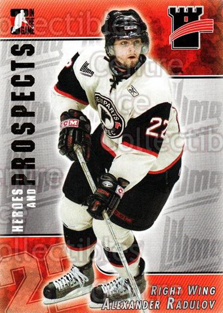 2004-05 ITG Heroes and Prospects #219 Alexander Radulov<br/>2 In Stock - $1.00 each - <a href=https://centericecollectibles.foxycart.com/cart?name=2004-05%20ITG%20Heroes%20and%20Prospects%20%23219%20Alexander%20Radul...&quantity_max=2&price=$1.00&code=282356 class=foxycart> Buy it now! </a>