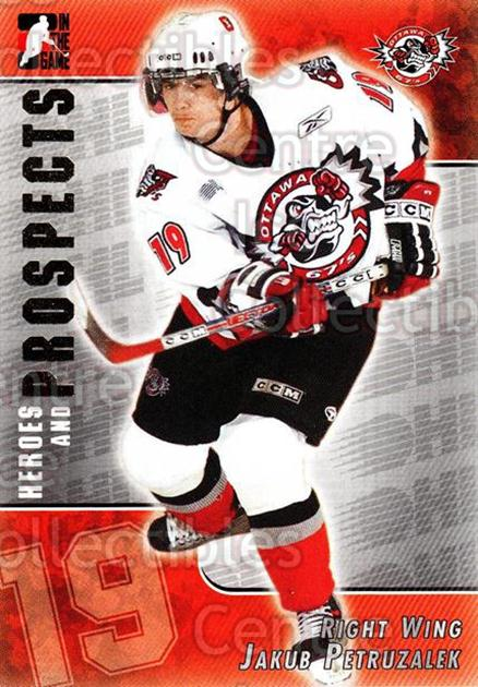 2004-05 ITG Heroes and Prospects #221 Jakub Petruzalek<br/>4 In Stock - $1.00 each - <a href=https://centericecollectibles.foxycart.com/cart?name=2004-05%20ITG%20Heroes%20and%20Prospects%20%23221%20Jakub%20Petruzale...&quantity_max=4&price=$1.00&code=282358 class=foxycart> Buy it now! </a>