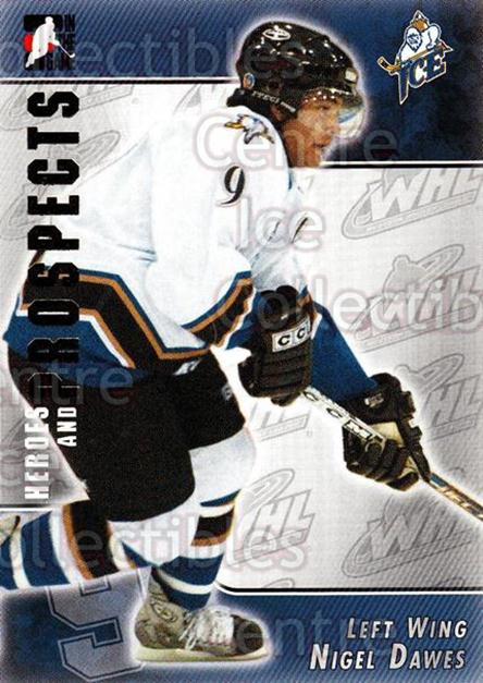 2004-05 ITG Heroes and Prospects #223 Nigel Dawes<br/>4 In Stock - $1.00 each - <a href=https://centericecollectibles.foxycart.com/cart?name=2004-05%20ITG%20Heroes%20and%20Prospects%20%23223%20Nigel%20Dawes...&quantity_max=4&price=$1.00&code=282360 class=foxycart> Buy it now! </a>