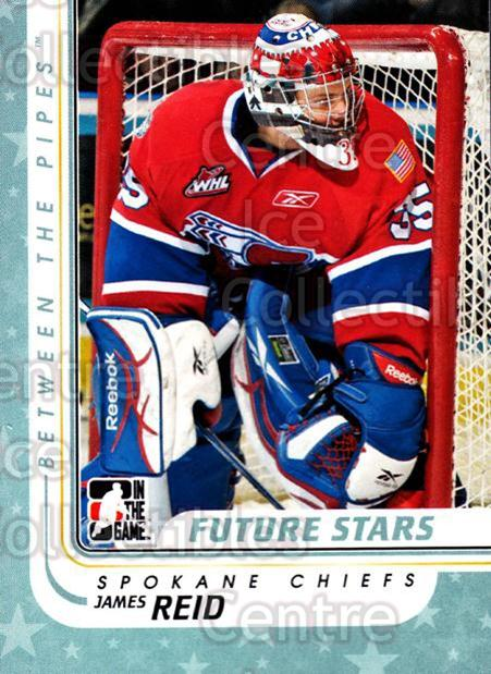 2010-11 Between The Pipes #17 James Reid<br/>19 In Stock - $1.00 each - <a href=https://centericecollectibles.foxycart.com/cart?name=2010-11%20Between%20The%20Pipes%20%2317%20James%20Reid...&quantity_max=19&price=$1.00&code=282385 class=foxycart> Buy it now! </a>